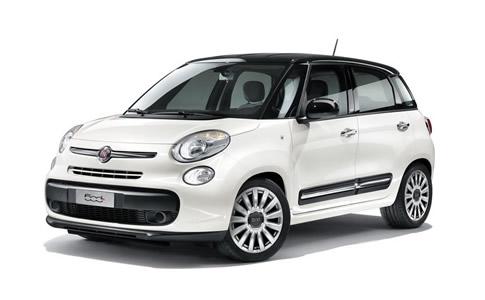 Fiat 500 L Panichi Auto Noleggio
