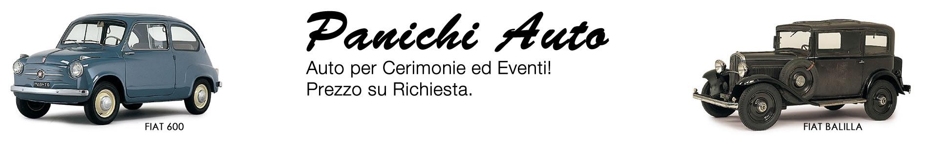 Panichi Auto Noleggio per Cerimonie Cortona